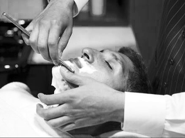 Get a Straight Razor Shave